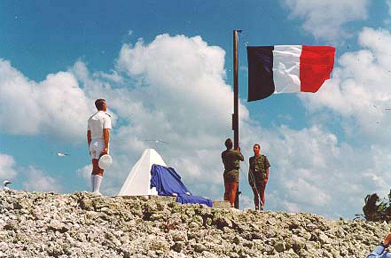 drapeau de l ile de clipperton